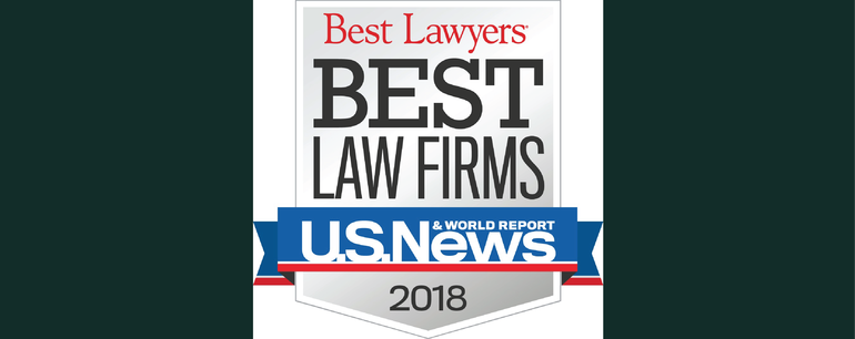 8 LGT Practice Areas named Tier 1 'Best Law Firm' in Binghamton for 2018