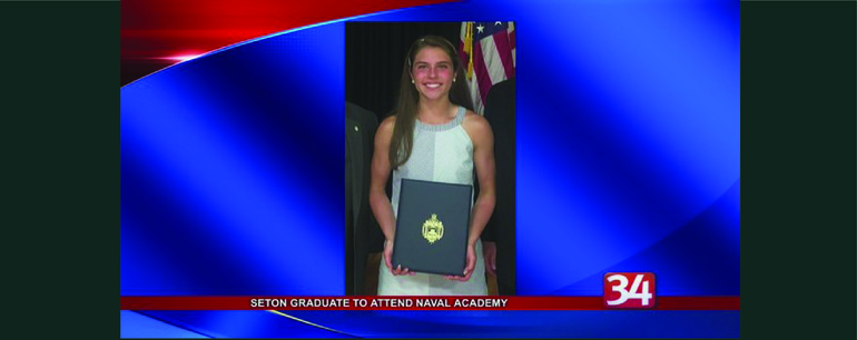 LGT Partner Kevin Williams' Daughter to attend Naval Academy