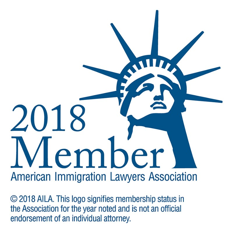 American Immigration Law Association Logo 2018